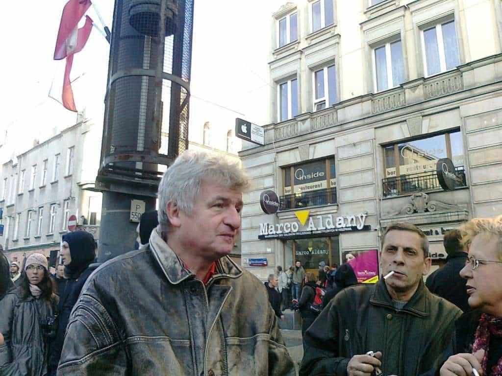 Piotr Ikonowicz, fot. z archiwum autora