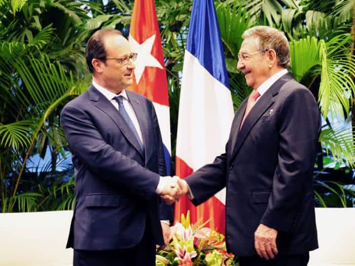 François Hollande odwiedził Kubę