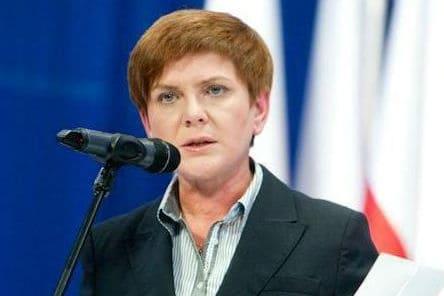 Wyszło Szydło z worka, żartowała kandydatka PiS na premiera