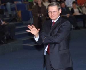 """Leszek Balcerowicz, autor """"terapii szokowej"""" dla polskiej gospodarki, fot. wikipedia commons"""