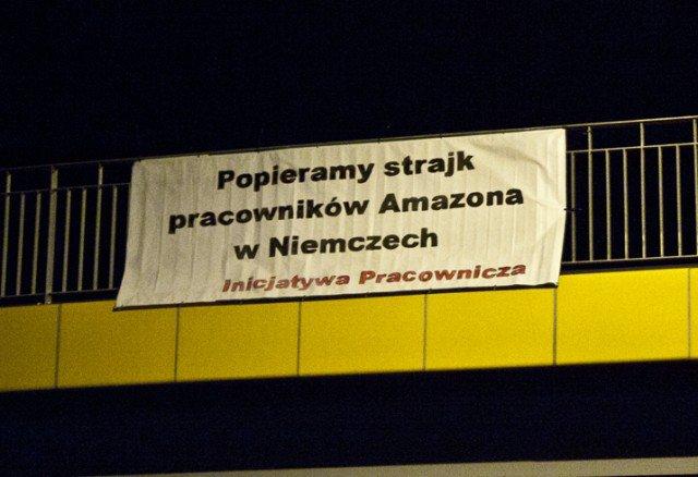 """Związkowa zdrada w Amazonie. """"Solidarność"""" przeciwko Inicjatywie Pracowniczej"""