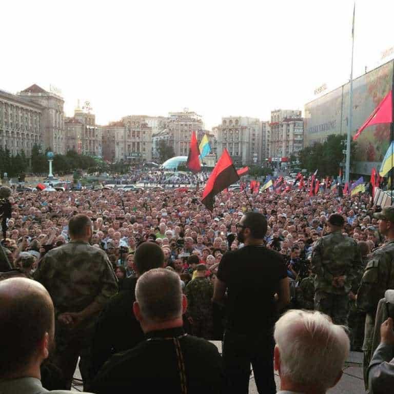 Ukraińscy nacjonaliści prowokują konflikt