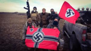 Członkowie neonazistowskiego batalionu na Ukrainie / twitter.com