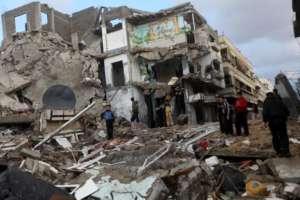 Strefa Gazy zniszczona przez wojsko izraelskie