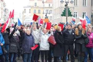 Protest KOD w Opolu / facebook.com/KomitetObronyDemokracji
