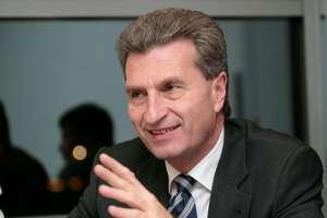 """""""Guenther h oettinger 2007"""" por Jacques Grießmayer"""