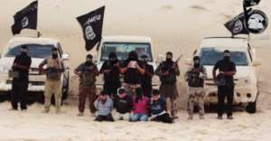 Bojownicy Państwa Islamskiego w Libii/ flickr.com