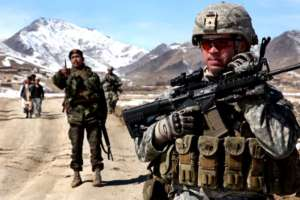 Patrol US Army w Afganistanie / flickr.com