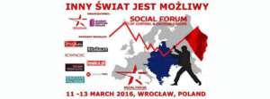 Social Forum 2016, fot. facebook.com