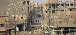 Ramadi zniszczone przez Państwo Islamskie, odbite przez Irak z irańską pomocą / fot. Wikimedia Commons