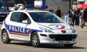 frnacuski samochód policyjny