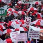 Nadal protestują przeciw reformie oświaty