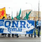 Łomża: nacjonalista pobił kobietę. Zatrzymała go policja