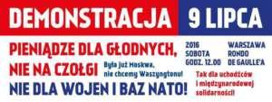 Plakat Inicjatywy Stop Wojnie /facebook.com/stopwojnie.org
