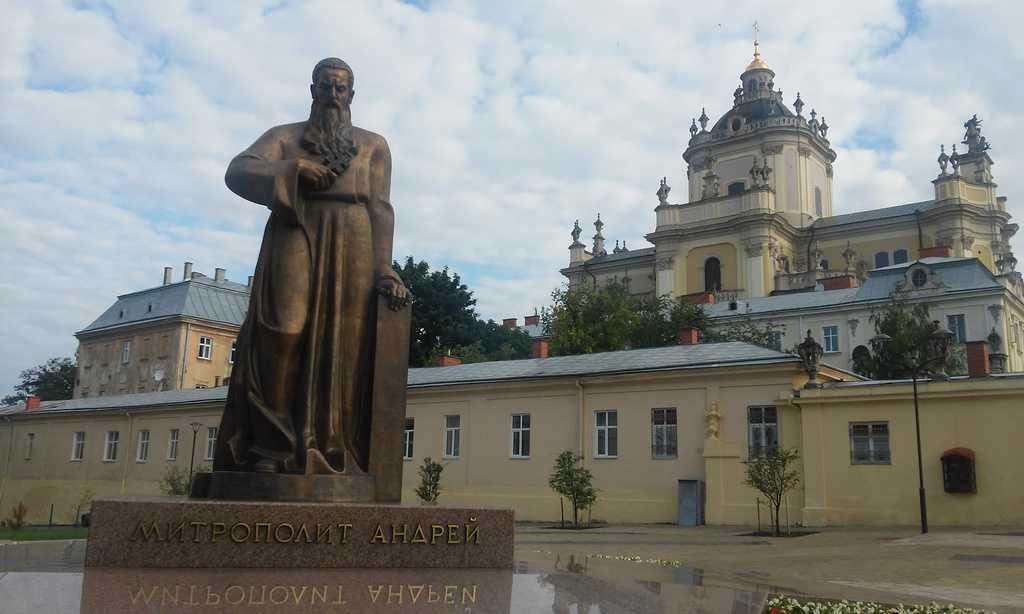 Andrzej Szeptycki przed świętym Jurem, Lwów