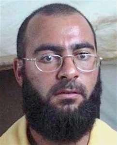 Abu Bakr al-Baghdadi jeszcze jako początkujący fanatyk islamski. Potem uległ radykalizacji w amerykańskim więzieniu w Iraku - Camp Bucca