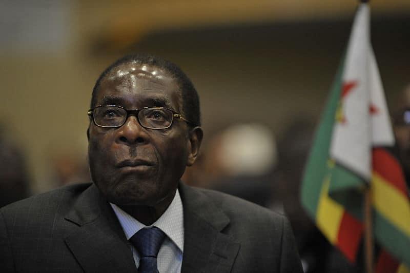 Robert Mugabe, prezydent Zimbabwe, fot. wikimedia commons