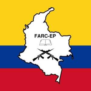 Flaga FARC, źródło: Wikimedia Commons