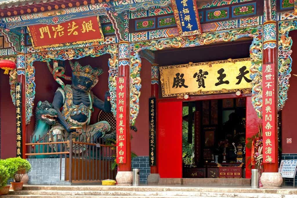 Świątynia Kunming, Zachodnie Wzgórza, Chiny, fot. pixabay.com/ hbieser