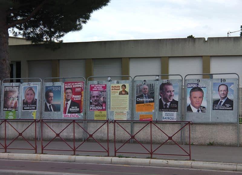 Francuski krajobraz powyborczy z ostatnich wyborów prezyydenckich, fot. wikimedia commons