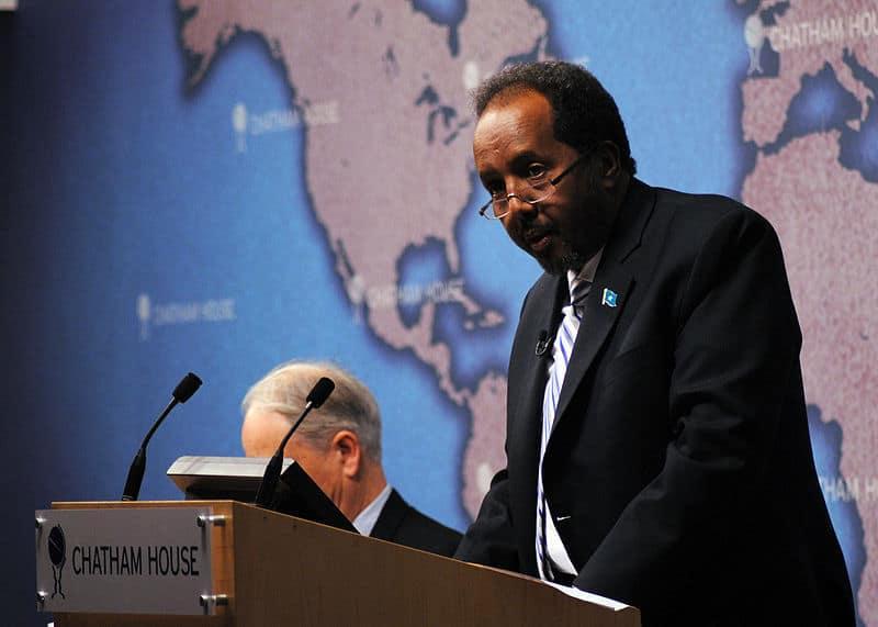 Prezydent Somalii, Hasan Szejk Mohamud, fot. wikimedia commons