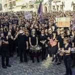Czarny Protest wciąż trwa. Kilkanaście tysięcy w obronie kobiet