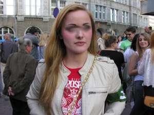 Justyna H. - liderka Brygady Dolnośląskiej Obozu Narodowo-Radykalnego /youtube.com