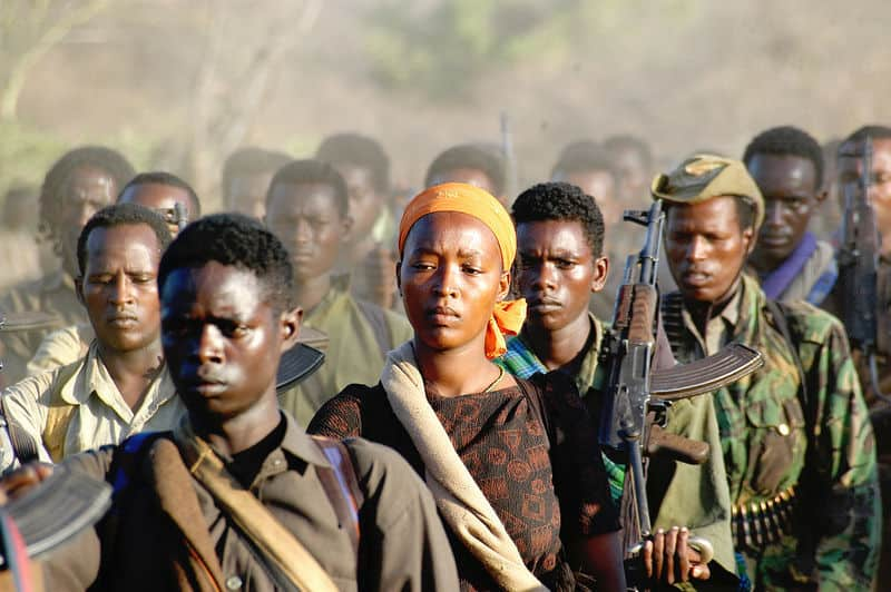 Front Wyzwolenia Oromo, fot. wikimedia commons