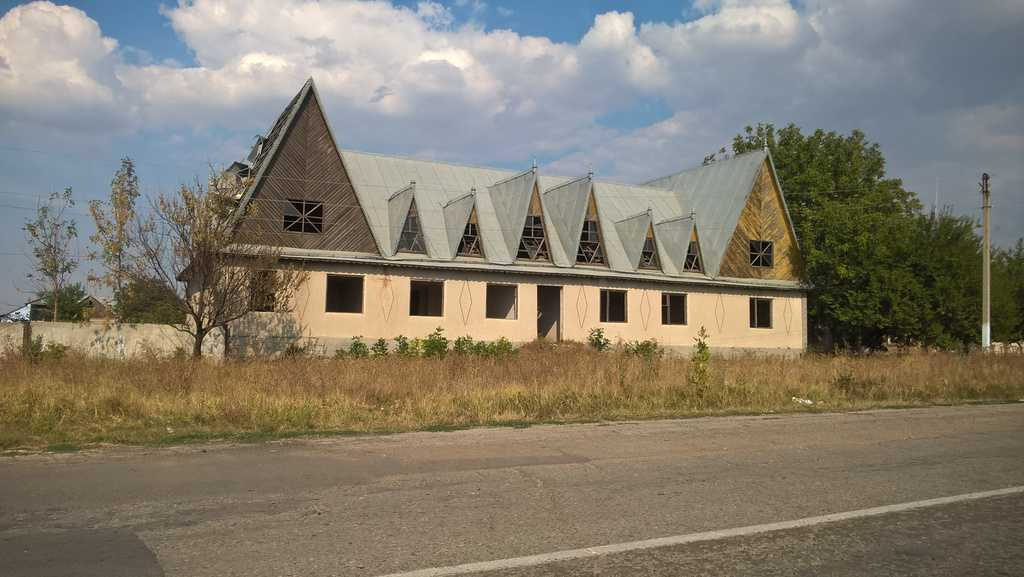 Opuszczony kołchoz w okolicach Ceadir-Lunga / fot. Agatha Rosenberg