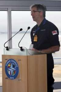 Wicedmirał Clive Johnstone, szef marynarki wojennej NATO / Źródło: Wikimedia Commons