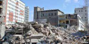 Ruiny fabryki Foton na Woli / forgotten.pl