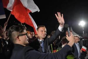 Nowy prezydent RP - Andrzej Duda  facebook.com/andrzejduda