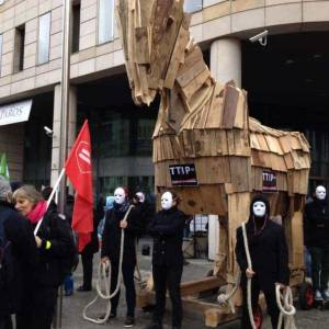 Koń trojański międzynarodowego kapitału czyli umowa TTIP/ Małgorzata Borkowska