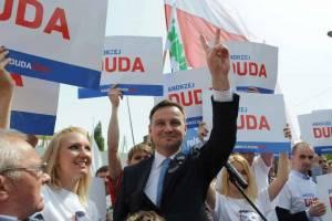 Andrzej Duda podczas wiecu wyborczego/facebook.com/andrzejduda