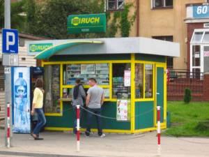 Kiosk Ruchu w Białymstoku/ wikipedia commons