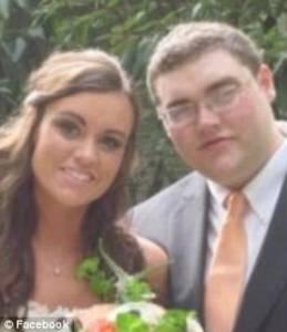Jordan Parmenter z żoną