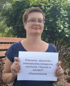 Katarzyna Lubnauer, Facebook.com/Świecka Szkoła