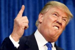 Donald Trump podczas swojego wystąpienia / flickr.com/MikeLicht