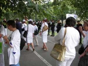 Protest pielęgniarek pod KPRM / wikipedia commons
