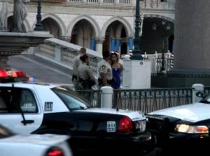 Prostytutka zatrzymywana przez policję, USA