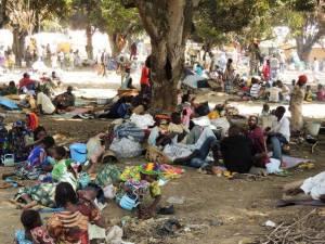 Uchodźcy z RAŚ w D. R. Konga. Źródło: Flickr.