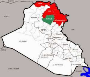 Tereny Irackiego Kurdystanu / wikipedia commons