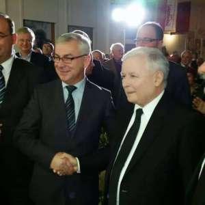 Zenon Żynda (od lewej) i J. Kaczyński. Źródło: Facbook.