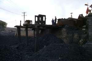 Upadająca kopalnia w północno-wschodnich Chinach/ wikpedia commons