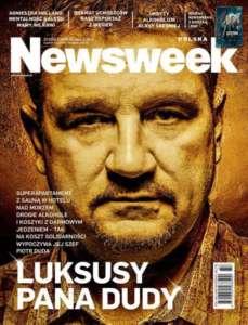 "Okładka tyg. ""Newsweek"""