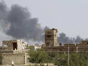 Kolejny raz saudyjskie rakiety spowodowały śmierć cywilów/ twitter.com/@etribune