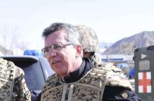 Thomas de Maizire w Afganistanie, fot. Wikipedia