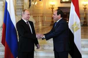 Sisi i Putin, 10 lutego 2015. fot.Wikipedia