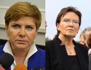 Ewa Kopacz i Beata Szydło / wikipedia commons