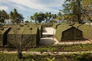 Obóz przejściowy na Manus, fot. wikimedia commons